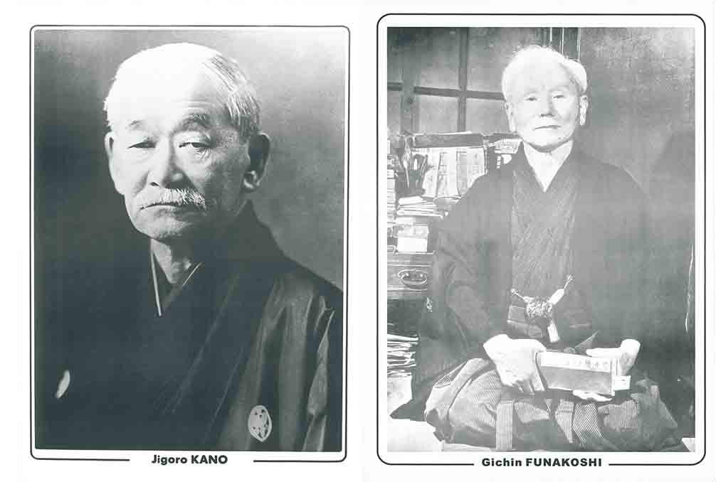 jigoro kano gichin funakoshi
