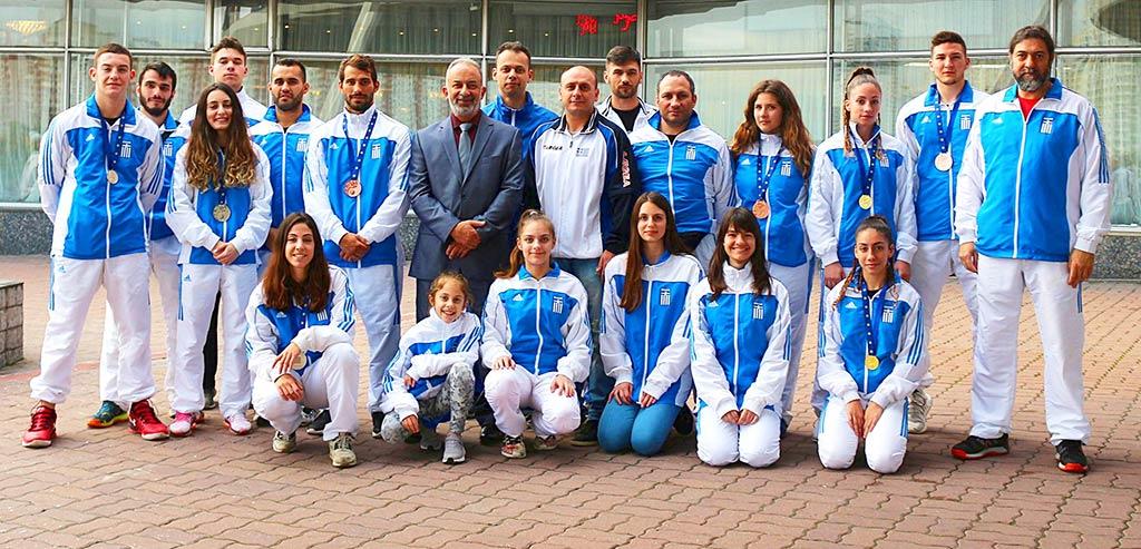 19ο ευρωπαϊκό πρωτάθλημα Γου Σου Κουνγκ Φου στη Μόσχα της Ρωσίας