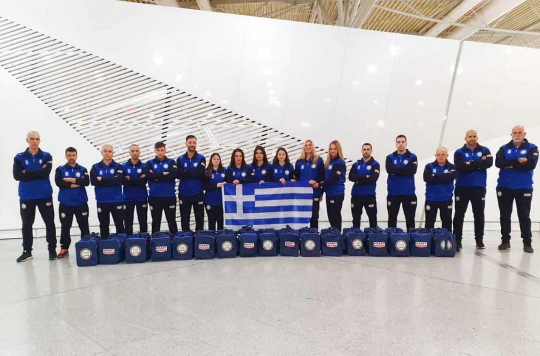 Team Greece 2018 - Tang Soo Do